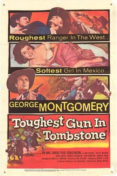 Caratula, cartel, poster o portada de The Toughest Gun in Tombstone