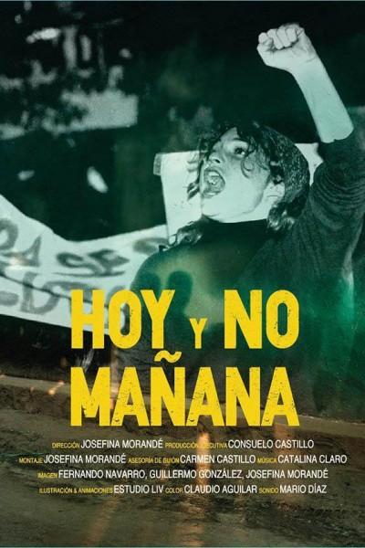 Caratula, cartel, poster o portada de Hoy y no mañana
