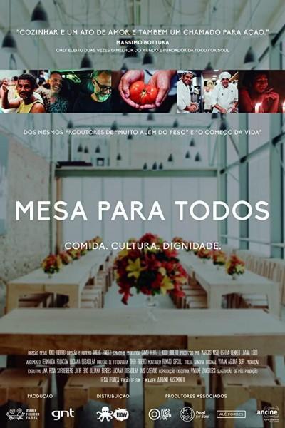 Caratula, cartel, poster o portada de Mesa para todos