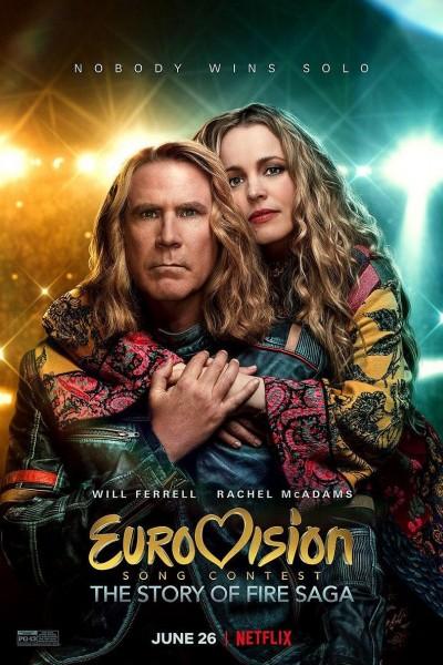 Caratula, cartel, poster o portada de Festival de la canción de Eurovisión: La historia de Fire Saga