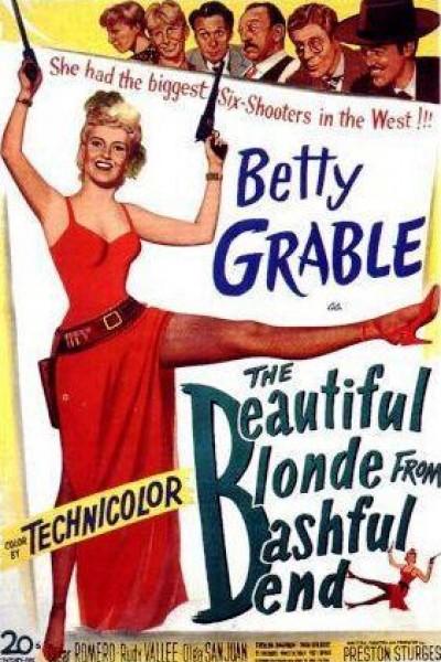 Caratula, cartel, poster o portada de The Beautiful Blonde from Bashful Bend