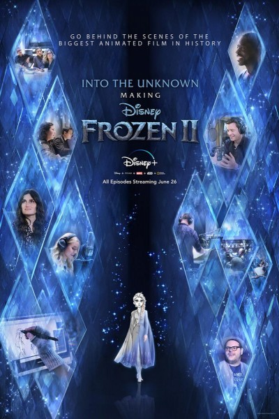 Caratula, cartel, poster o portada de Mucho más allá: Así se hizo Frozen 2