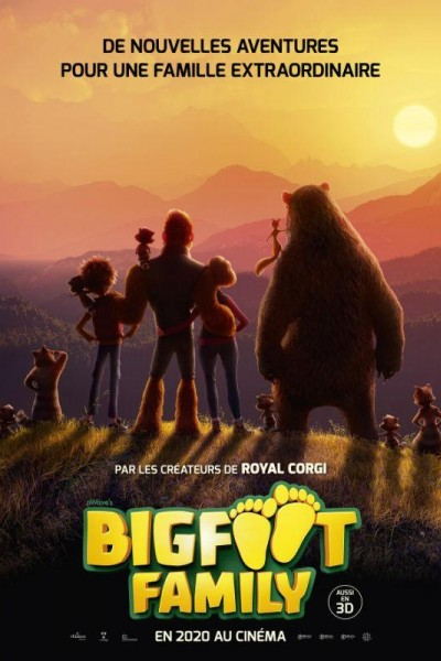 Caratula, cartel, poster o portada de Bigfoot Family