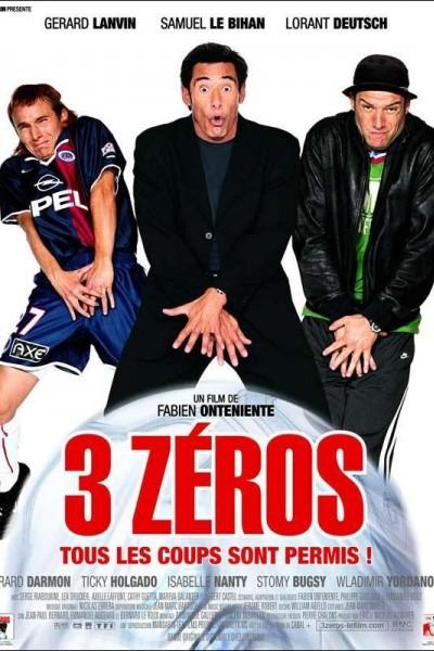 Caratula, cartel, poster o portada de 3 zéros (Trois zéros)