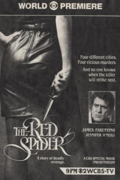 Caratula, cartel, poster o portada de La araña roja