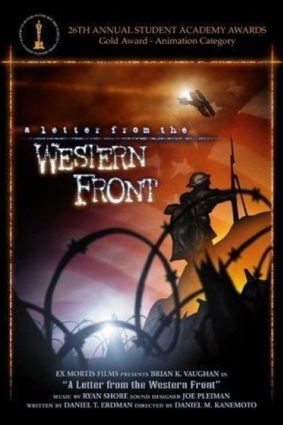 Caratula, cartel, poster o portada de A Letter from the Western Front