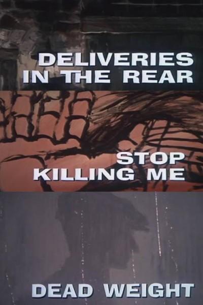 Caratula, cartel, poster o portada de Galería Nocturna: Entregas por la puerta trasera - Deja de matarme - Peso muerto