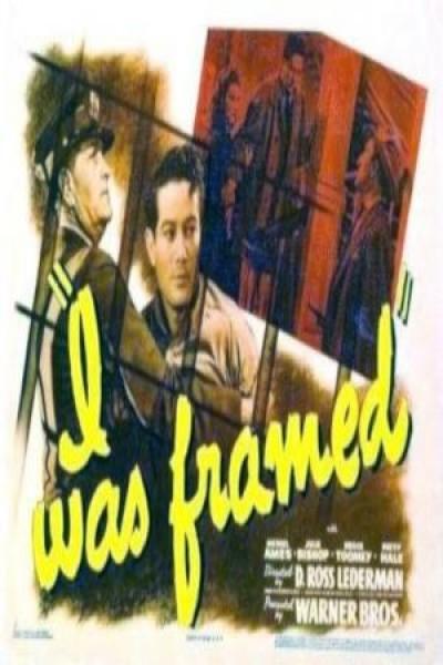 Caratula, cartel, poster o portada de I Was Framed