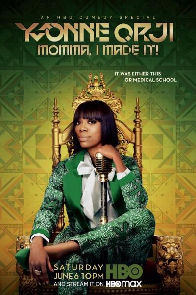 Caratula, cartel, poster o portada de Yvonne Orji: Momma, I Made It