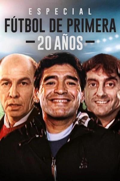 Caratula, cartel, poster o portada de Especial Fútbol de Primera 20 años