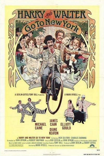 Caratula, cartel, poster o portada de Harry y Walter van a Nueva York