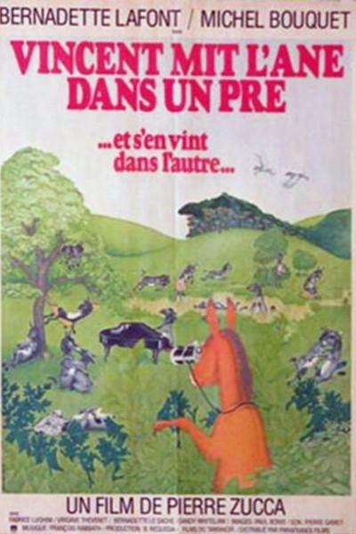 Caratula, cartel, poster o portada de Vincent mit l\'âne dans un pré (et s\'en vint dans l\'autre)