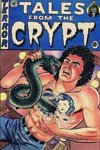 Caratula, cartel, poster o portada de Historias de la cripta: Como un beso en su pecho