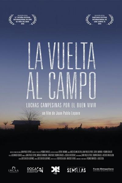Caratula, cartel, poster o portada de La vuelta al campo