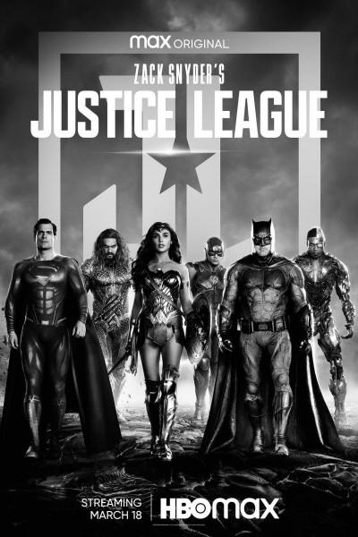 Caratula, cartel, poster o portada de La Liga de la Justicia de Zack Snyder