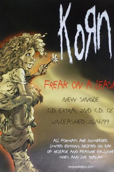 Caratula, cartel, poster o portada de Korn: Freak on a Leash (Vídeo musical)