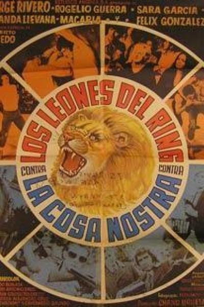 Caratula, cartel, poster o portada de Los leones del ring contra la Cosa Nostra
