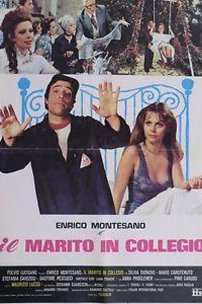 Caratula, cartel, poster o portada de Il marito in collegio