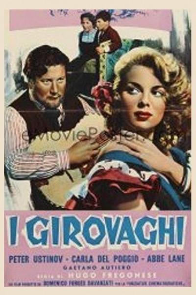 Caratula, cartel, poster o portada de I girovaghi