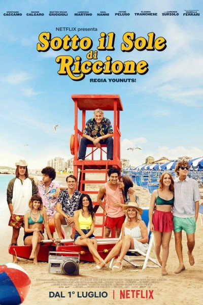 Caratula, cartel, poster o portada de Bajo el sol de Riccione