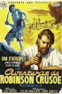 Caratula, cartel, poster o portada de Robinson Crusoe