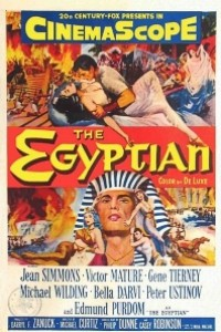 Caratula, cartel, poster o portada de Sinuhe el egipcio