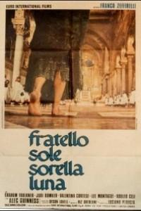 Caratula, cartel, poster o portada de Hermano sol, hermana luna