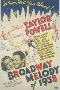 Caratula, cartel, poster o portada de Melodías de Broadway 1938