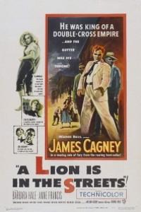 Caratula, cartel, poster o portada de Un león en las calles