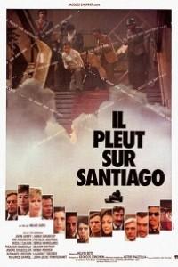 Caratula, cartel, poster o portada de Llueve sobre Santiago
