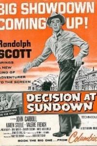 Caratula, cartel, poster o portada de Cita en Sundown