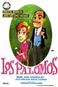 Caratula, cartel, poster o portada de Los Palomos
