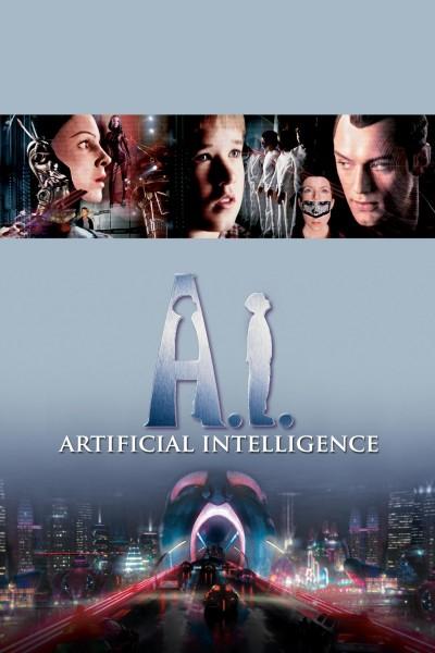 Caratula, cartel, poster o portada de A.I. Inteligencia Artificial