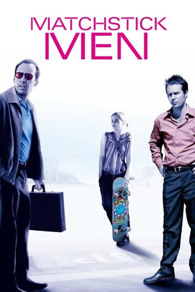 Caratula, cartel, poster o portada de Los impostores (Matchstick Men)