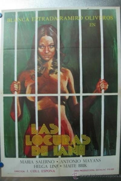Caratula, cartel, poster o portada de Las locuras de Jane