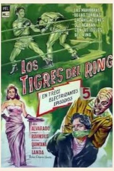 Caratula, cartel, poster o portada de Los tigres del ring