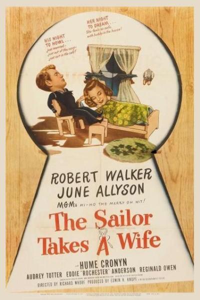 Caratula, cartel, poster o portada de The Sailor Takes a Wife