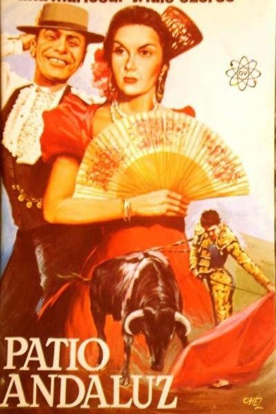 Caratula, cartel, poster o portada de Patio andaluz