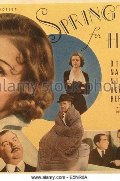 Caratula, cartel, poster o portada de Springtime for Henry