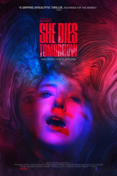 Caratula, cartel, poster o portada de She Dies Tomorrow
