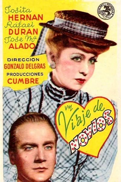 Caratula, cartel, poster o portada de Un viaje de novios