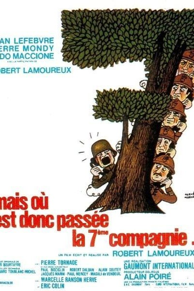 Caratula, cartel, poster o portada de Pero, ¿dónde está la séptima compañía?
