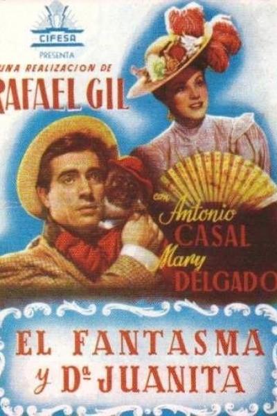 Caratula, cartel, poster o portada de El fantasma y doña Juanita