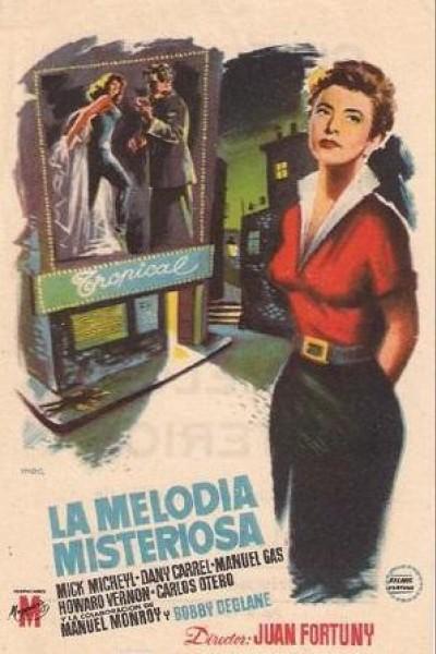 Caratula, cartel, poster o portada de La melodía misteriosa