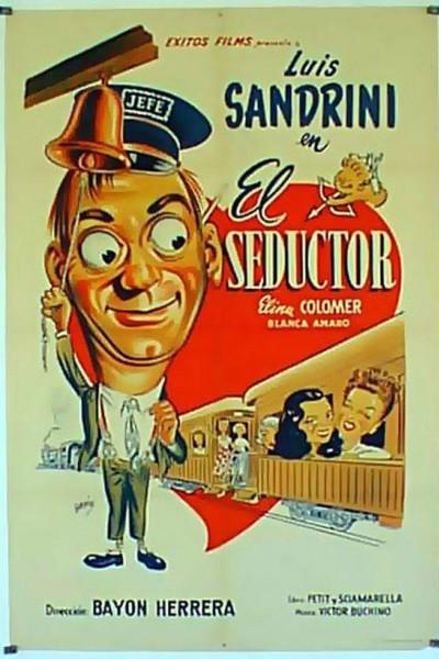 Caratula, cartel, poster o portada de El seductor