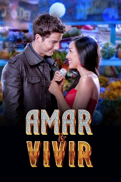 Caratula, cartel, poster o portada de Amar y vivir
