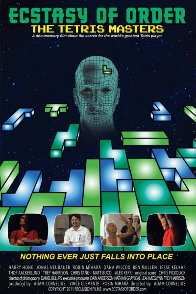 Caratula, cartel, poster o portada de Ecstasy of Order: The Tetris Masters