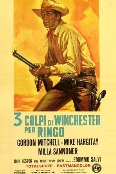 Caratula, cartel, poster o portada de Tres balas para Ringo