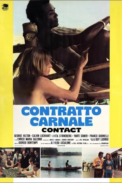 Caratula, cartel, poster o portada de Contratto carnale