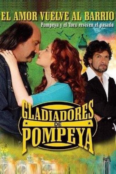 Caratula, cartel, poster o portada de Gladiadores de Pompeya